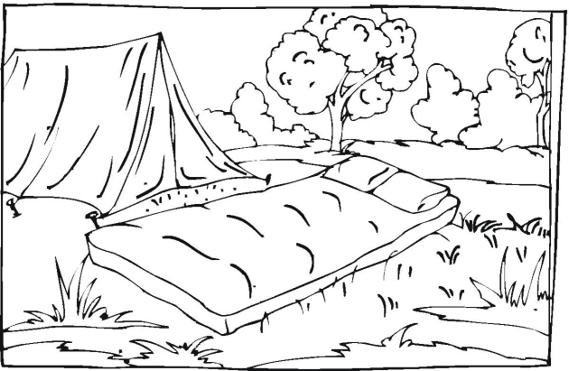 camper coloring pages - rv camper coloring pages sketch coloring page