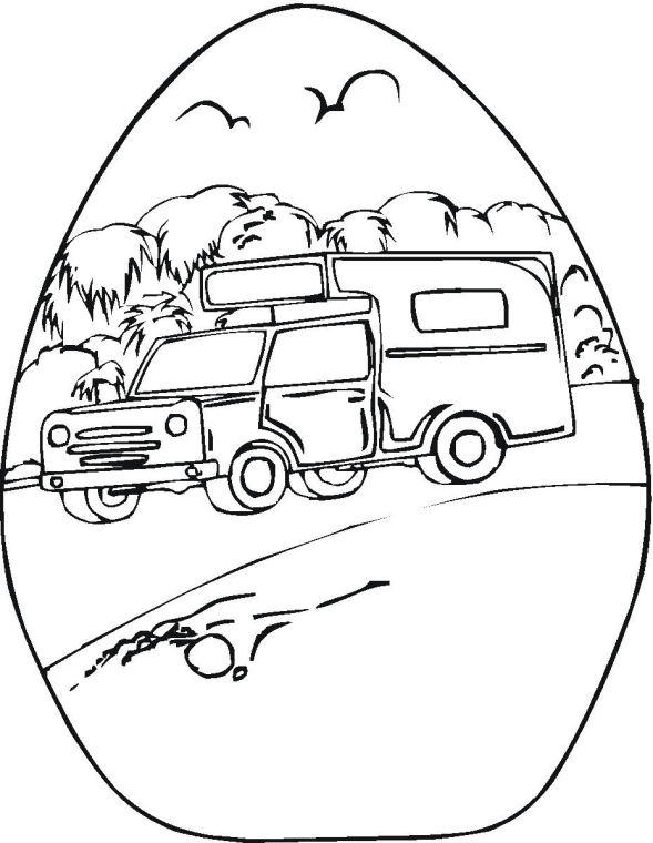 Free Camping Coloring Pages