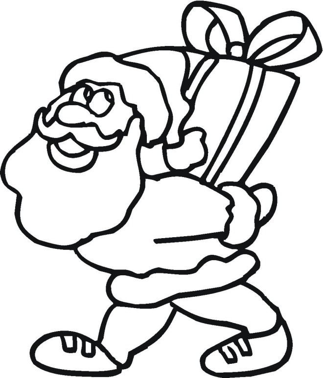 660 x 773 jpeg 95kB, Christmas Coloring Pictures Santa/page/2 | New ...
