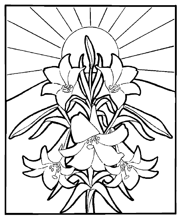 easter coloring pages religious resurrection of jesus christ