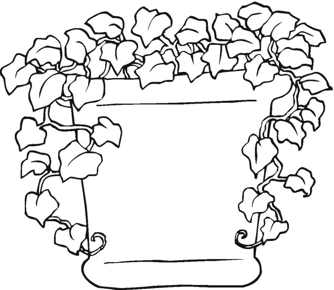free coloring pages of bushes - photo#37