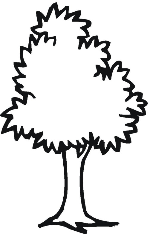 free trees coloring pages - Trees Coloring Pages