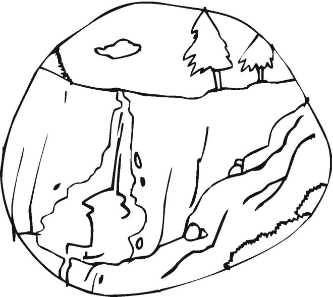 waterfalss coloring pages - photo#21