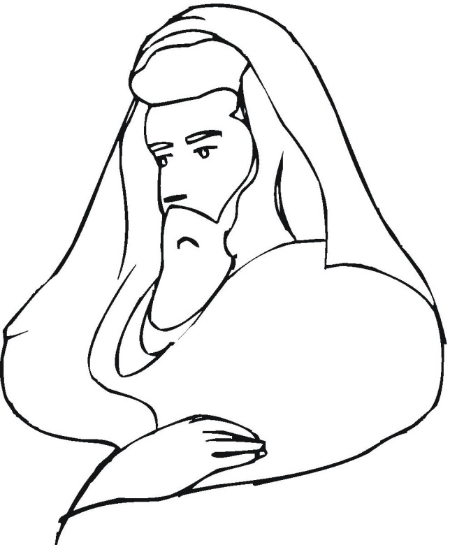 coloring pages of poeple - photo#25