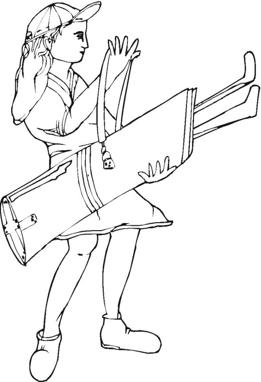 golf printable coloring pages - photo#29