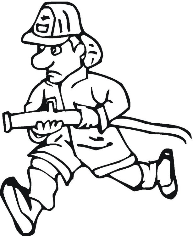 Free Fire Police Coloring Pages