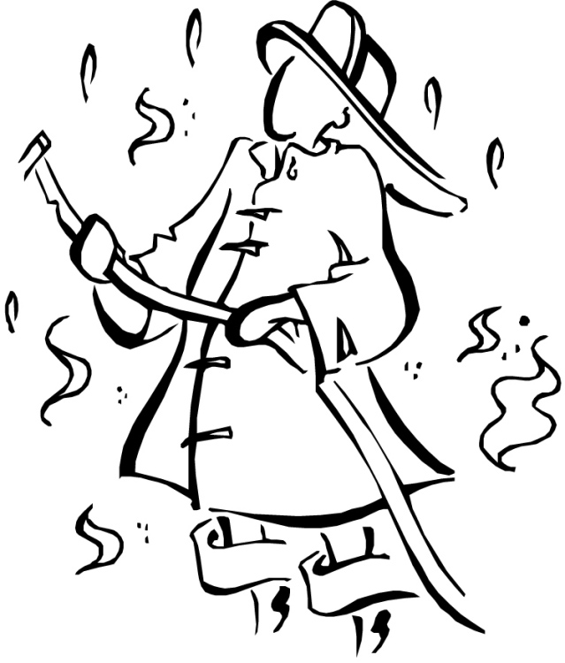 fireman and policeman coloring pages - photo#6