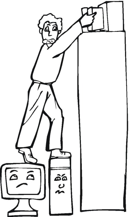 technology coloring pages - photo#19